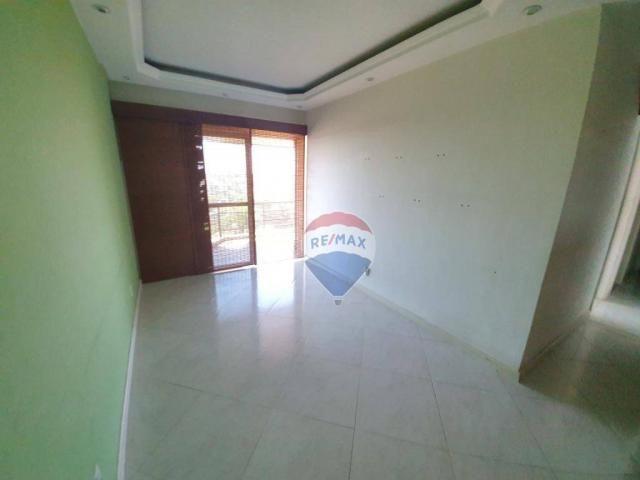 Apartamento com 3 dormitórios à venda, 130 m² por r$ 800.000 - jardim guanabara - rio de j - Foto 2