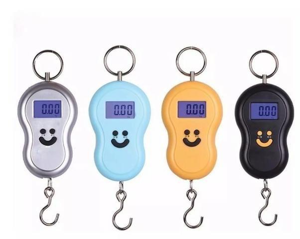 (NOVO) Balança Digital De Gancho Alta Precisão Até 50kg - Foto 4