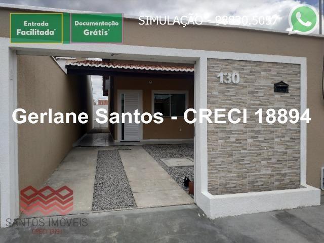 Escritura Grátis Casa 02 Quartos, 2 banheiros, 2 garagens - Foto 12