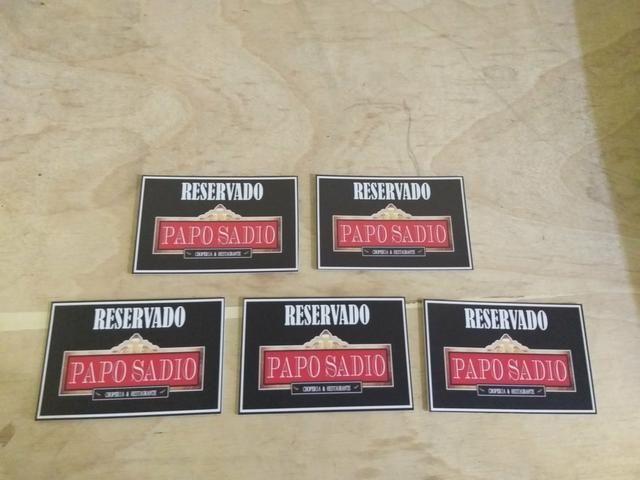 Fazemos placas de ps adesivadas. - Foto 2