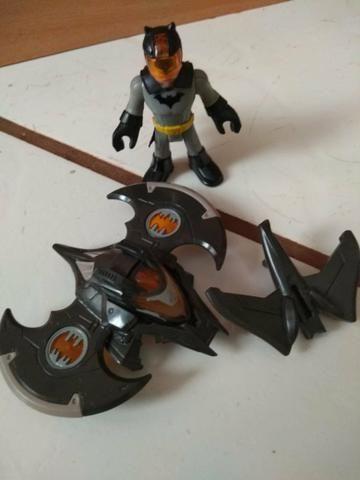Batcaverna + Batman armadura de combate imaginext - Foto 2