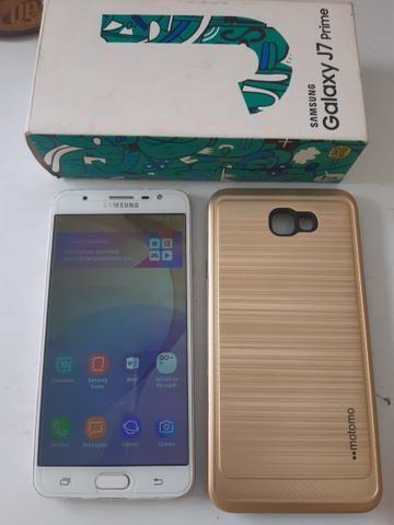 Vendo Samsung j7 Prime 32gb 3gb RAM valor pra vender - Foto 2