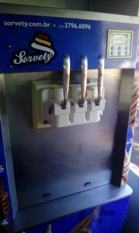 Vendo Maquina d Sorvete softe - Foto 3