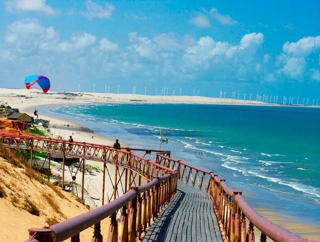 Lote em Canoa Quebrada, com 429 m², documentação perfeita (Registrado). Vista Mar! - Foto 8
