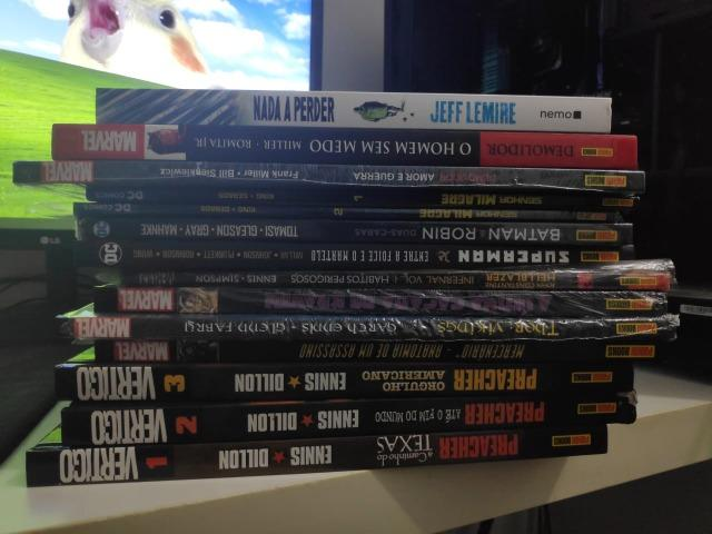 Hq's Diversas (Preacher, Demolidor, Jeff Lemire, Superman, Homem aranha, Hellblazer, etc)