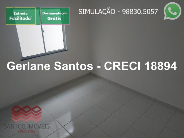 Escritura Grátis Casa 02 Quartos, 2 banheiros, 2 garagens - Foto 5