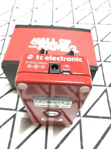 Pedal de reverb Hall of fame 2 tc eletronic novo - Foto 3