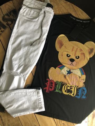Calças bermudas camisetas shorts - Foto 4