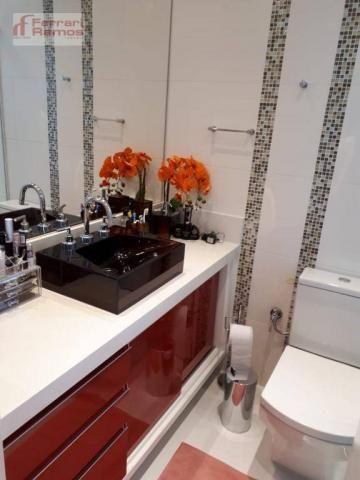 Apartamento com 3 dormitórios à venda, 92 m² por r$ 699.000 - vila augusta - guarulhos/sp - Foto 15