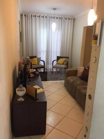 Apartamento com 3 dormitórios à venda, 65 m² por r$ 259.990,00 - jardim pacaembu - valinho - Foto 5