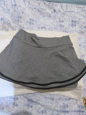 Conjunto short saia e blusa academia G