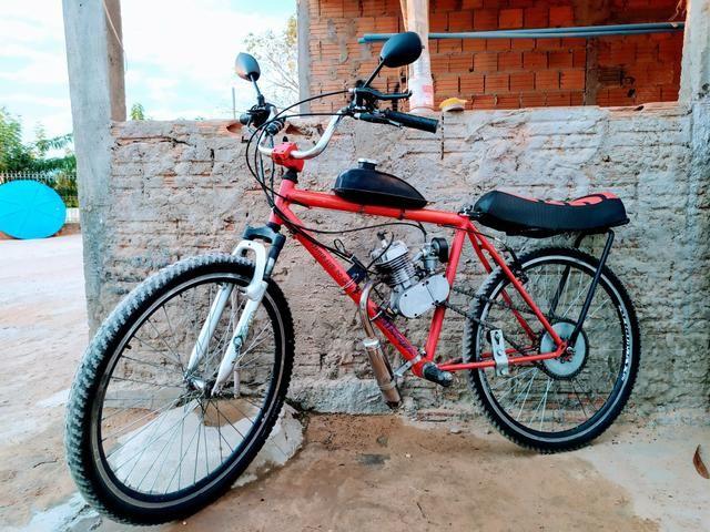 Bicicleta Motorizada 80cc - Foto 6