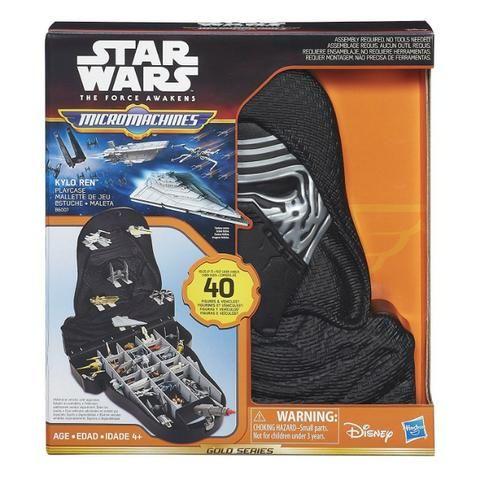 Brinquedo Maleta Micro Machines Kylo Ren Playcase - Star Wars