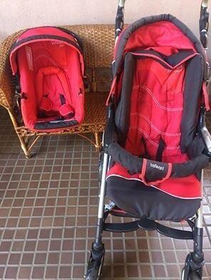 Carrinho e bebê conforto Infanti