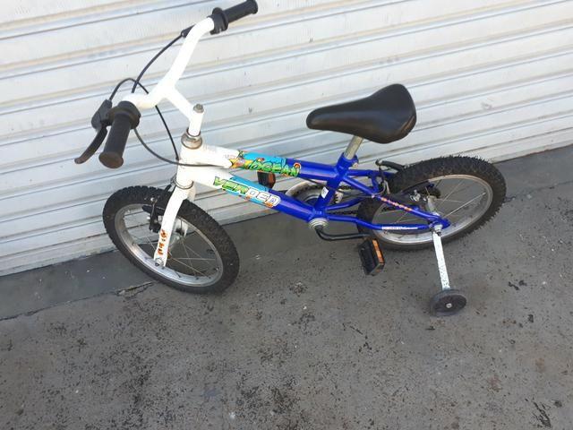 Bicicleta aro 16 masculina - Foto 2