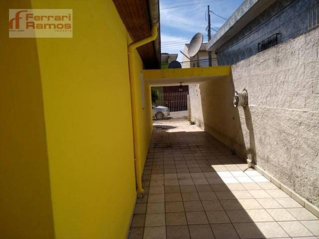 Casa com 3 dormitórios para alugar, 80 m² por r$ 1.350,00/mês - jardim presidente dutra -  - Foto 3