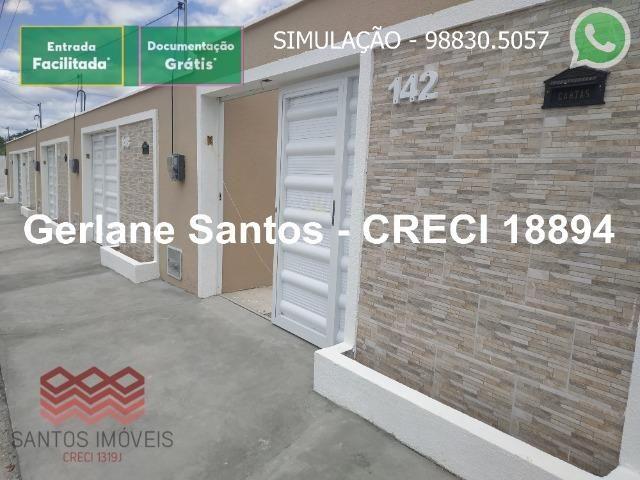 Escritura Grátis Casa 02 Quartos, 2 banheiros, 2 garagens - Foto 13