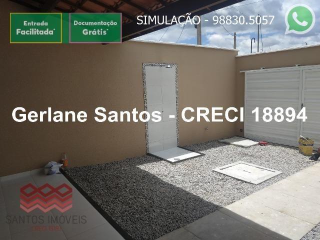 Escritura Grátis Casa 02 Quartos, 2 banheiros, 2 garagens - Foto 17