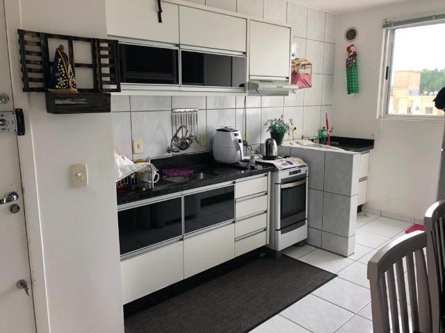 Apartamento Todo mobiliado, móveis sob medida em todos os cômodos, em Forquilhinhas - Foto 10