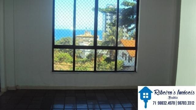Apartamento 3/4, suite e varanda vista mar, Costa Azul - Foto 9