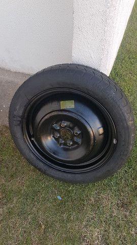 Roda 16 + pneu semi-novo