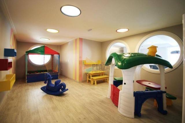 Apartamento com 2 dormitórios à venda, 83 m² por R$ 543.335,00 - Canto do Forte - Praia Gr - Foto 20