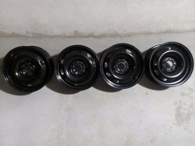 Rodas 15 linha volks 5furos Aceito cartao - Foto 3