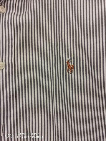 Duas lindas camisas de tecido Polo Ralph Lauren  - Foto 2