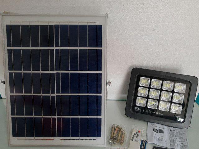 Lâmpada solar 100w blue ip65, frete grátis acima de 2 unidades. - Foto 3