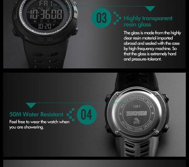 Relógio esportivo  - Foto 5