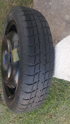 Roda 16 + pneu semi-novo - Foto 2