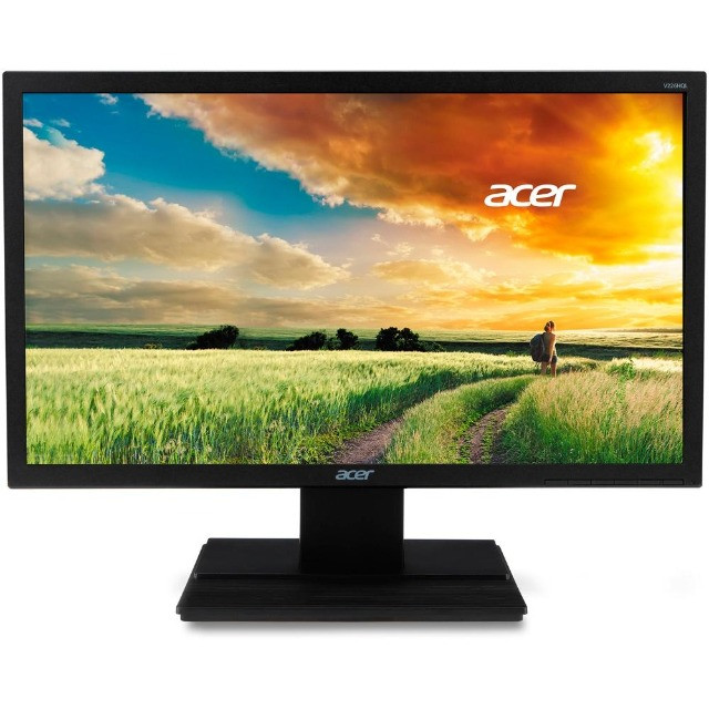 "Monitor Acer LED 21,5"" Full HD - V226HQL - Loja Fgtec Informática"