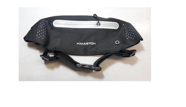 Pochete para atividade física Slim Pochete Bolsa De Cintura Porta Celular - Foto 2