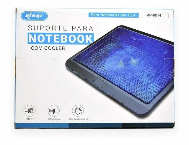 Suporte Base com cooler para resfriamento de notbook