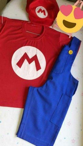Fantasia Mario Bros (Super Mario) - Foto 3