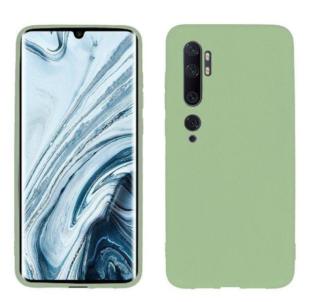 Case / Capinha de Silicone Xiaomi Mi Note 10 (Aceito cartão)