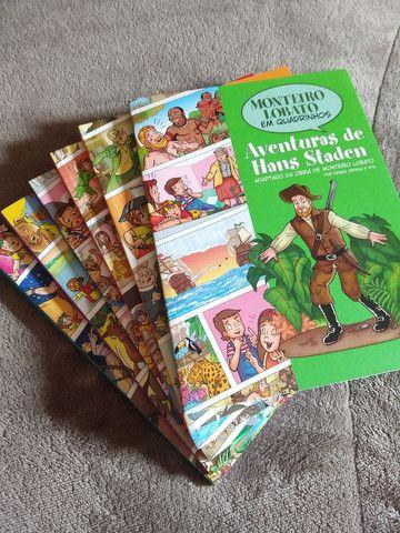 Coleção livros Monteiro Lobato