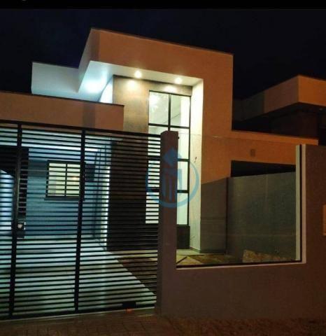 Casa com 2 dormitório à venda, 67 m² por R$ 260.000 - Três Pinheiros - Foz do Iguaçu/PR