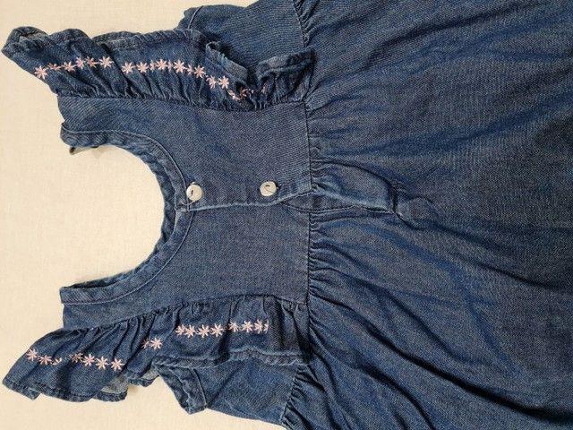 Vestido Jeans - Tamanho 2 - Marca carinhoso - Foto 4