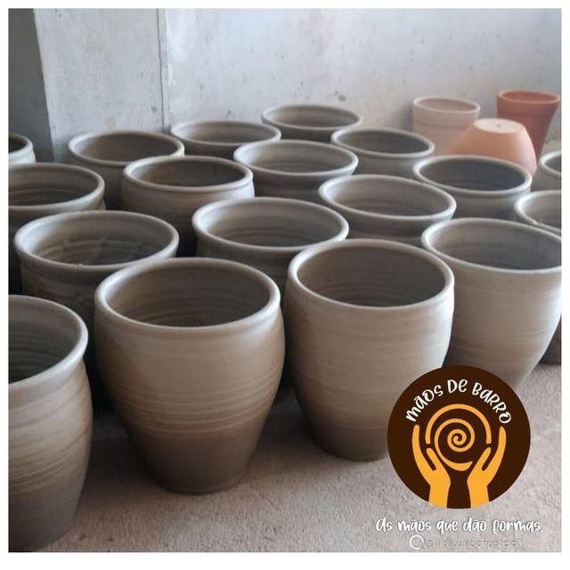 Vasos de barro p decorar seu ambiente. - Foto 4
