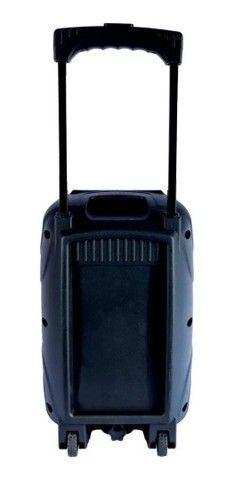 Caixa De Som Bluetooth Com Microfone Recarregável Grasep<br><br> - Foto 2