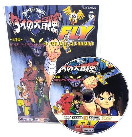 Box Dvd Fly O Pequeno Guerreiro Completo Dublado Completo - Foto 2