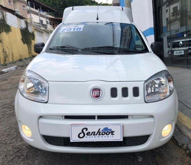 Fiat Fiorino 1.4 Furgão Hard Working Ano 2018 - Foto 2