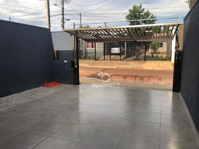 Casa com 2 dormitório à venda, 85 m² por R$ 320.000 - Jardim Ipê II - Foz do Iguaçu/PR - Foto 3
