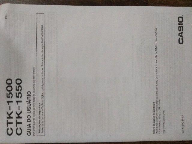 Teclado Casio CTK-1550 - Foto 2