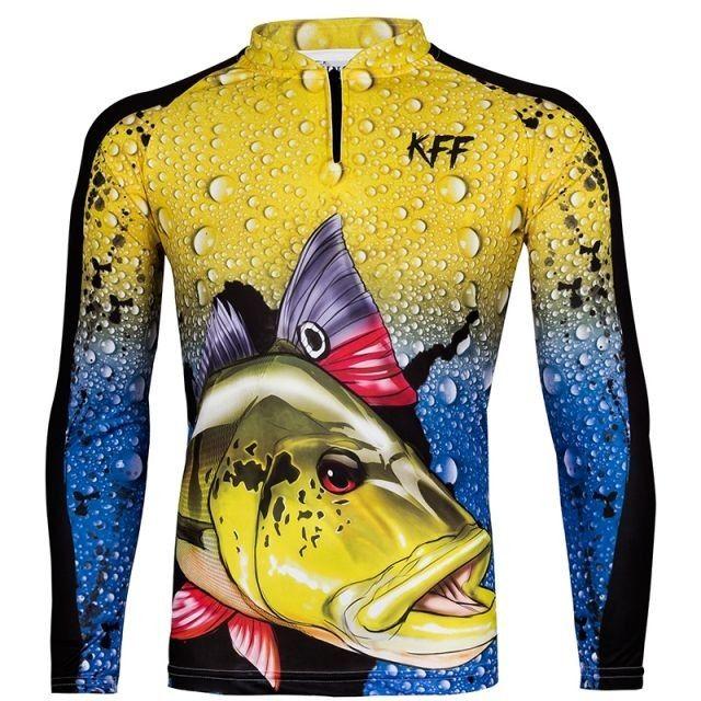 Camisa camiseta de Pesca kit Pai e Filho com proteção UV apronta entrega. - Foto 2