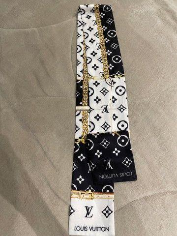 Lenço bandeau Louis Vuitton