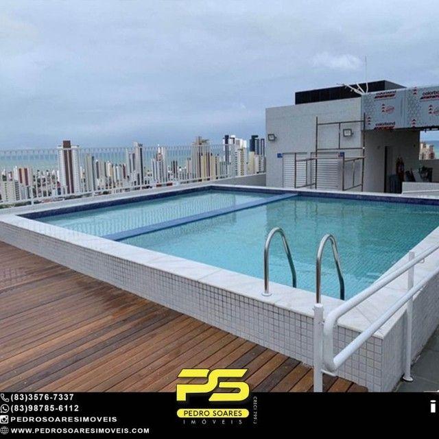 Apartamento com 2 dormitórios à venda, 64 m² por R$ 375.000 - Miramar - João Pessoa/PB - Foto 5