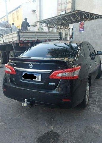 Nissan Sentra SL 2.0 Flex Full GNV Automático Impecável  - Foto 2