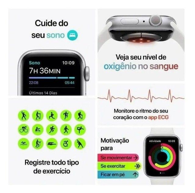 Smartwatch Iwo 13 W56 Relógio Inteligente Série 6 44mm IWO + Brindes - Foto 4